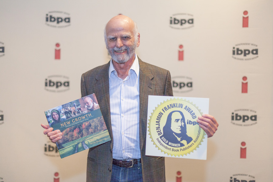 Peter at the Independent Book Publishers Association Awards Ceremony